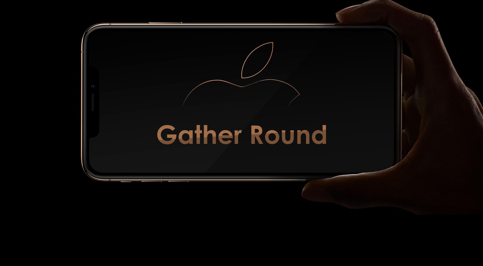 Gather Round: Das Apple Event 2018